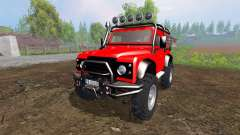 Land Rover Defender 90 [offroad] for Farming Simulator 2015