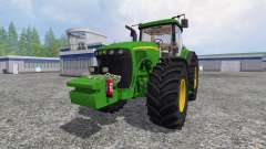 John Deere 8520 [full] for Farming Simulator 2015