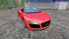 Audi R8 Spyder v1.0
