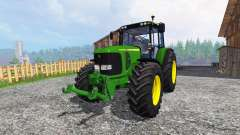 John Deere 7520 for Farming Simulator 2015