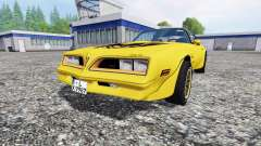 Pontiac Firebird Trans Am 1977 v1.2