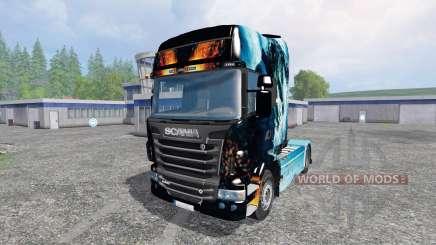 Scania R560 [power] for Farming Simulator 2015