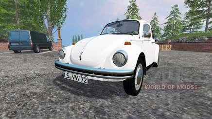 Volkswagen Beetle 1973 v2.0 for Farming Simulator 2015