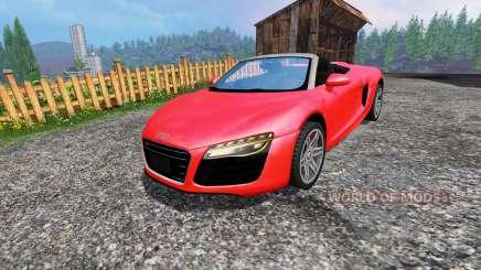 Audi R8 Spyder for Farming Simulator 2015