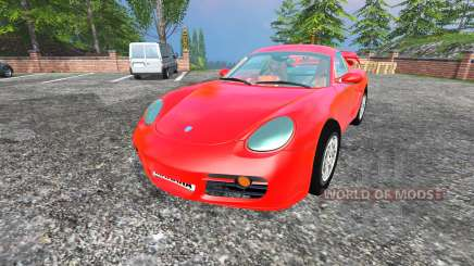 Porsche Cayman [final] for Farming Simulator 2015