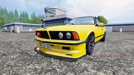 BMW M635CSi (E24) v1.0 for Farming Simulator 2015