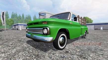 Chevrolet C10 Fleetside 1966 v1.1 for Farming Simulator 2015