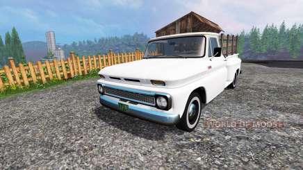 Chevrolet C10 Fleetside 1966 v1.2 for Farming Simulator 2015