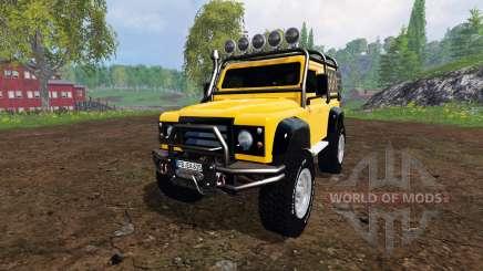 Land Rover Defender 90 [offroad] v2.0 for Farming Simulator 2015