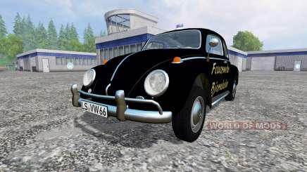 Volkswagen Beetle 1966 [feuerwehr] for Farming Simulator 2015