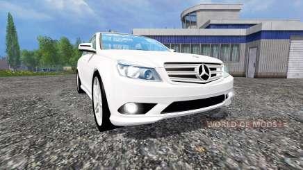 Mercedes-Benz C350 CDI v1.1 for Farming Simulator 2015