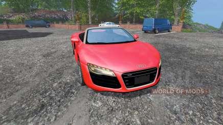 Audi R8 Spyder v1.1 for Farming Simulator 2015