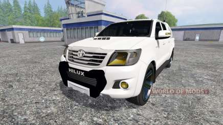 Toyota Hilux [city version] for Farming Simulator 2015