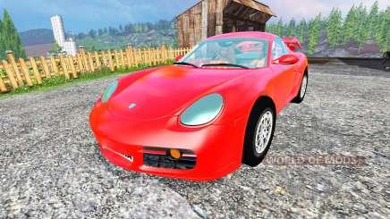 Porsche Cayman v1.2 for Farming Simulator 2015