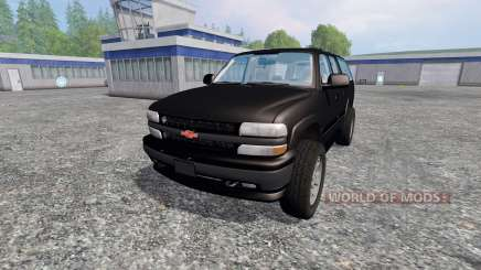 Chevrolet Suburban [custom] for Farming Simulator 2015