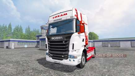 Scania R560 [loxam] for Farming Simulator 2015