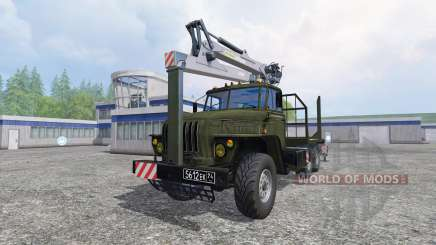 Ural-4320 [timber] for Farming Simulator 2015