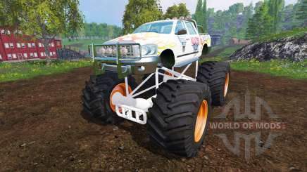 PickUp Monster Truck Jam v1.1 for Farming Simulator 2015