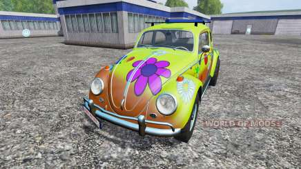 Volkswagen Beetle 1966 [peace and love] for Farming Simulator 2015