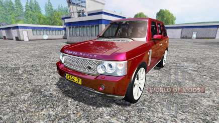 Range Rover Supercharged 2009 for Farming Simulator 2015