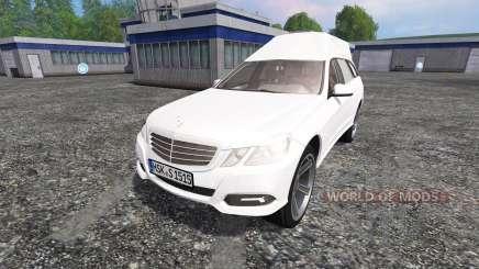 Mercedes-Benz E350 CDI Estate [hearse] for Farming Simulator 2015