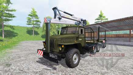 Ural-4320 [timber] v3.0 for Farming Simulator 2015