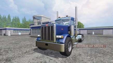 Peterbilt 379 [daycab truck] for Farming Simulator 2015