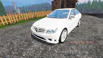 Mercedes-Benz C350 CDI for Farming Simulator 2015