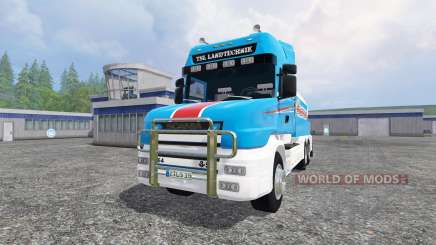 Scania T164 [tanker] for Farming Simulator 2015