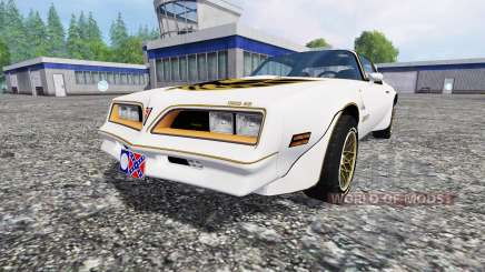 Pontiac Firebird Trans Am 1977 v1.1 for Farming Simulator 2015