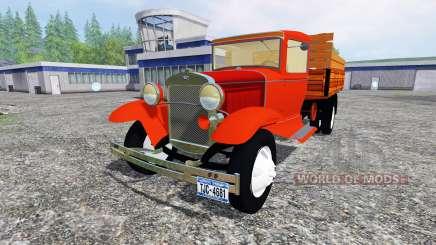 Ford Model AA v2.0 for Farming Simulator 2015