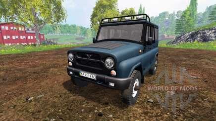 UAZ-315195 hunter v3.0 for Farming Simulator 2015