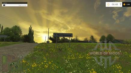 The Village Of Novotroitsk for Farming Simulator 2015
