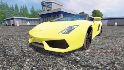 Lamborghini Gallardo Spyder for Farming Simulator 2015