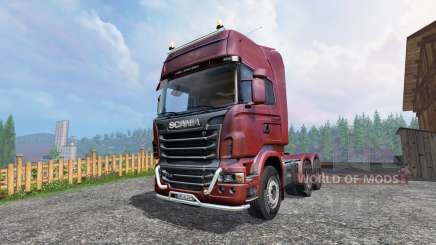 Scania R730 [Topline] v2.0 for Farming Simulator 2015