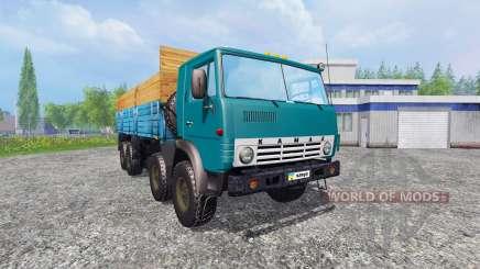 KamAZ-6530 v2.5 for Farming Simulator 2015