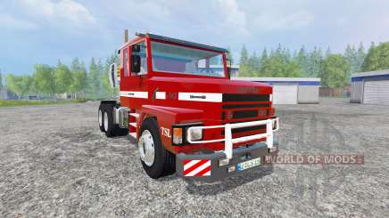 Scania 143H for Farming Simulator 2015