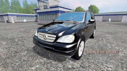Mercedes-Benz ML430 for Farming Simulator 2015