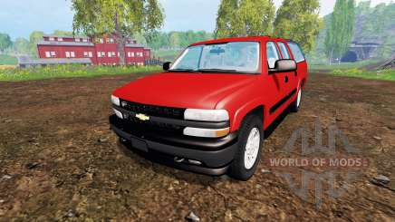 Chevrolet Suburban [pack] for Farming Simulator 2015