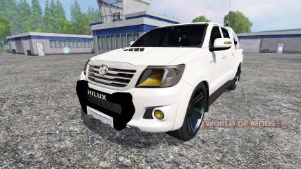 Toyota Hilux [city version] v1.2 for Farming Simulator 2015