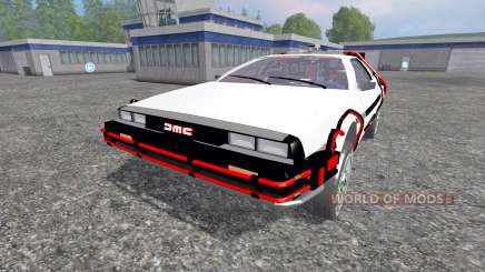DeLorean DMC-12 Back To The Future for Farming Simulator 2015