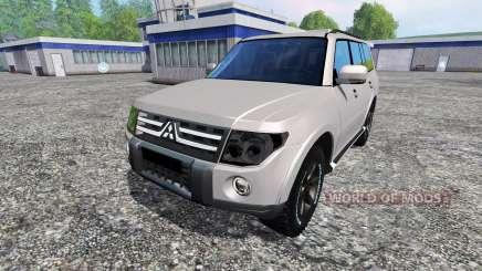 Mitsubishi Pajero IV for Farming Simulator 2015
