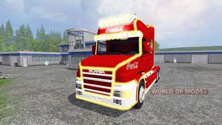 Scania T164 Coca-Cola Christmas for Farming Simulator 2015
