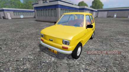 Fiat 126p for Farming Simulator 2015