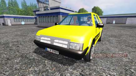 Nissan Micra [racing edition] v2.0 for Farming Simulator 2015