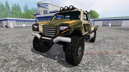 Gekko Utility Vehicle v1.0 for Farming Simulator 2015