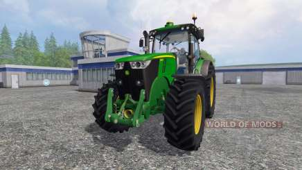 John Deere 7280R v4.0 for Farming Simulator 2015