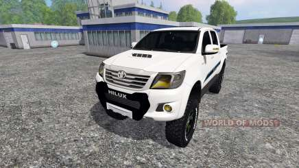 Toyota Hilux v1.2 for Farming Simulator 2015
