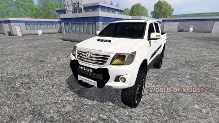 Toyota Hilux v1.2 for Farming Simulator 2015
