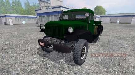 Dodge Power Wagon WM-300 for Farming Simulator 2015